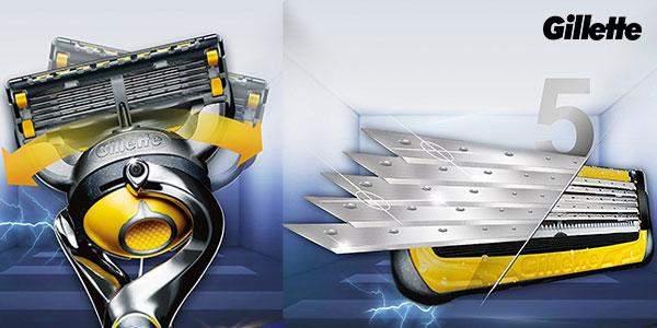 Chollo Estuche maquinilla Gillette Fusion ProShield + 2 recambios