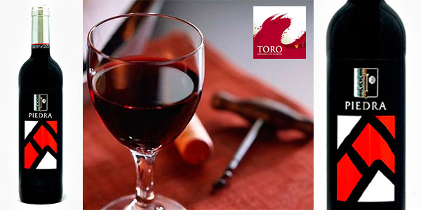 Chollo Pack de 6 botellas de vino crianza Piedra Roja 2012 (Toro