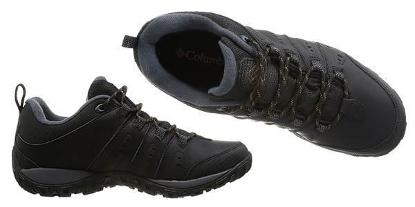 Columbia Woodburn II zapatillas impermeables para practicar senderismo en oferta