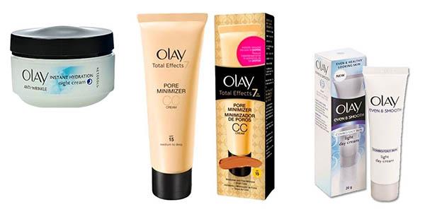cremas de cara Olay para pieles de 40 años o más chollo