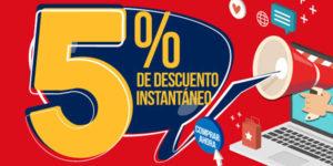 5% de descuento en eGlobal Central España