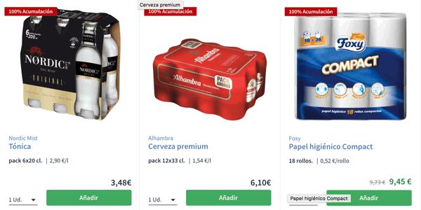 Productos con100% Acumulación ChequeAhorro