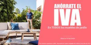 Día sin IVA muebles Carrefour