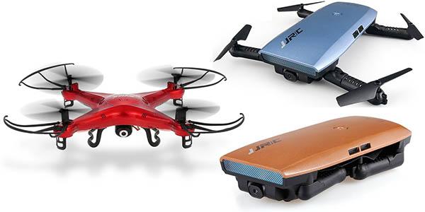 Selección de Drones con cupón descuento exclusivo en Amazon