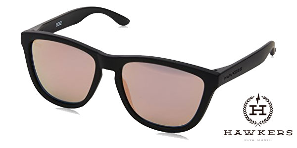 Gafas de sol unisex Hawkers Carbon Black Rose Gold One chollazo en Amazon
