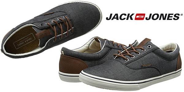 Jack & Jones Vision Chambray zapatillas de lona para hombre baratas