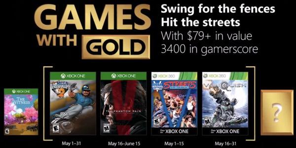 Juegos GRATIS con Gold mayo 2018