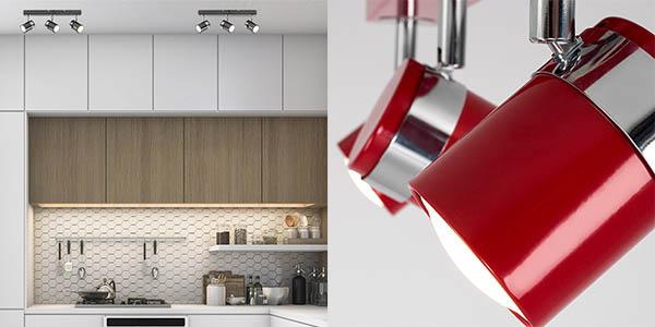 lámpara de 3 focos de diseño moderno para diferentes aplicaciones en oferta