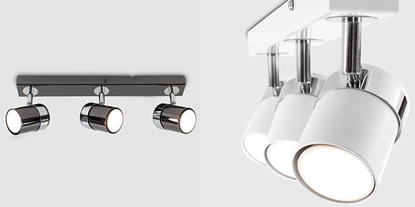 lámpara funcional para techo o pared con focos orientables de gran relación calidad-precio