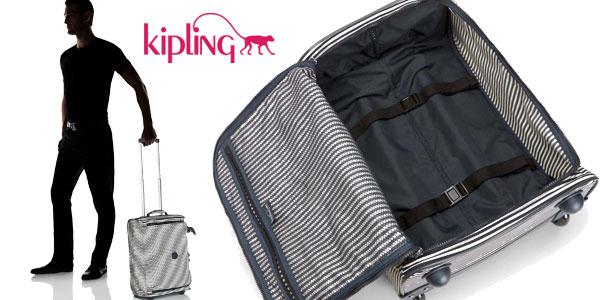 Maleta de cabina Kipling Teagan XS printed extra pequeña con ruedas chollazo en Amazon