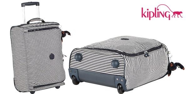 Maleta de cabina Kipling Teagan XS printed extra pequeña con ruedas barata en Amazon