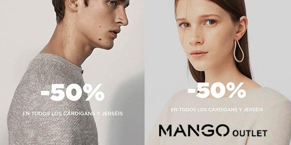 Mango Outlet jerseys y cárdigans a mitad de precio abril 2018