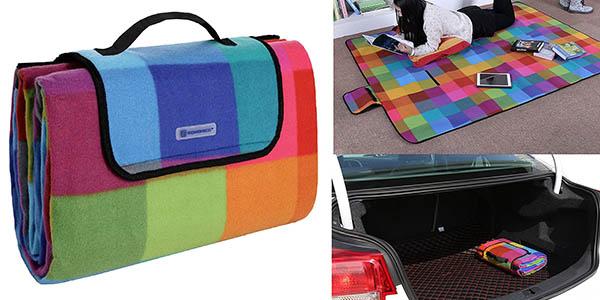manta de pícnic Songmics impermeable y barata
