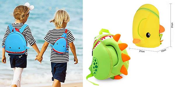 mochilas en neopreno para niñ@s en neopreno resistente e impermeable en oferta