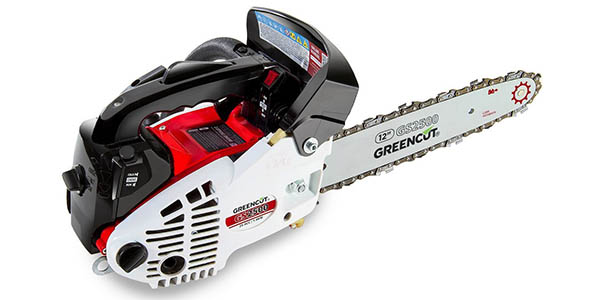 Motosierra de gasolina Greencut GS2500 en oferta