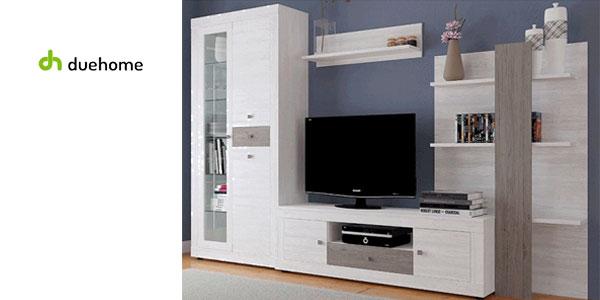 Mueble modular con luz LED para salón-comedor Julieta de Duehome chollazo en eBay