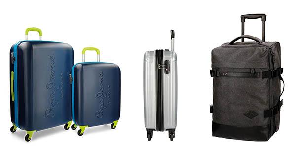 ofertas maletas primeras marcas El Corte Inglés