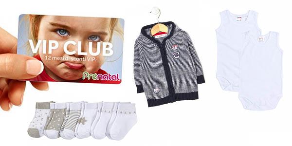 ofertas en ropa infantil Prénatal para clientes VIP