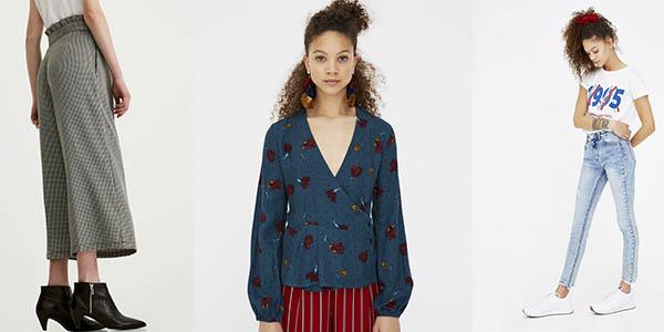 ofertas en ropa para mujer Pull & Bear colección primavera verano 2018