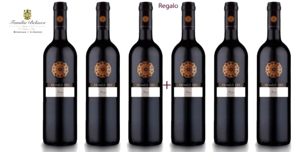 Pack 3+3 Botellas Vino Tempranillo Domus Dei Reserva 2013 (D.O. Rioja) barato en eBay
