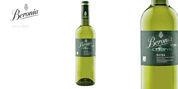 Comprar Pack 6 botellas Vino blanco Beronia Viura D.O.Ca. Rioja de 750 ml chollo en Amazon