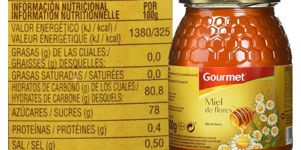 Pack de 6 botes de 1 kilo de Miel de flores Gourmet chollazo en Amazon