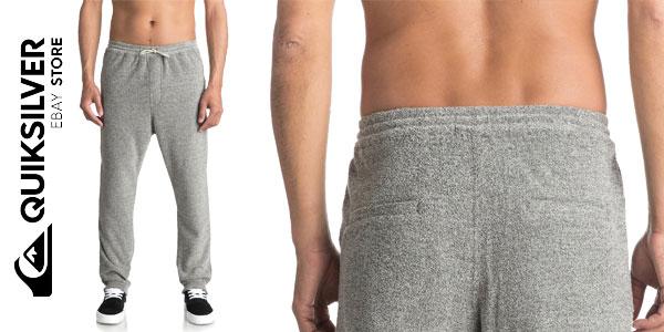 Pantalones de chándal Quiksilver After Surf Super-Soft Joggers para hombre chollazo en eBay