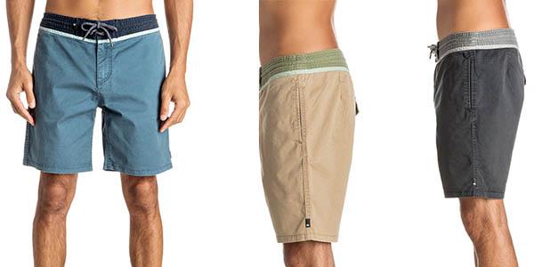 pantalones cortos Quiksilver Street Trunks para hombre en oferta