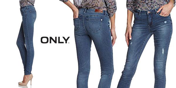 Pantalones vaqueros ONLY Onlultimate Reg Sk Jeans Bj5001-3 Noos para mujer baratos en Amazon