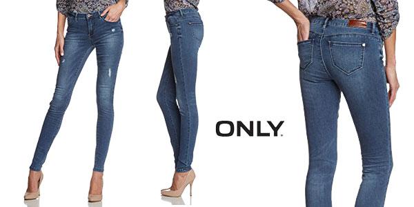 Pantalones vaqueros ONLY Onlultimate Reg Sk Jeans Bj5001-3 Noos para mujer chollo en Amazon