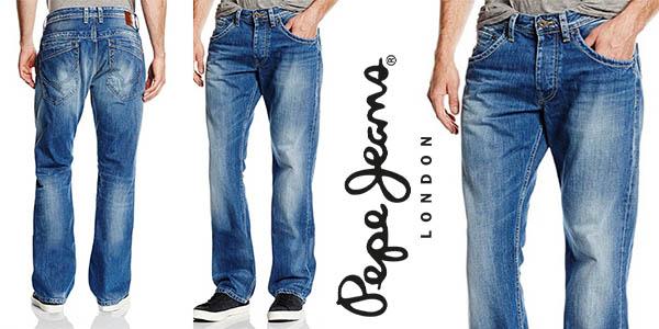 Pepe Jeans London Jeanius vaqueros para hombre baratos