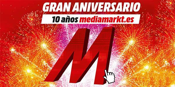 Promoción 10 Aniversario tienda online Media Markt