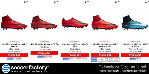 promoción en ropa y botas de fútbol Soccerfactory