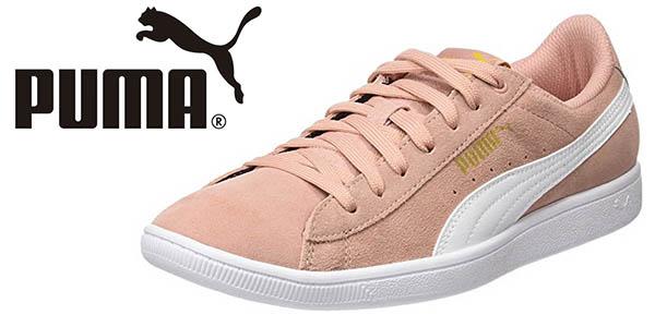 Puma Vikky Softfoam zapatillas casuales de ante chollo