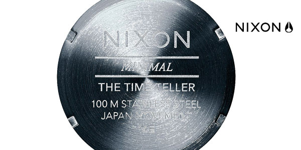 Reloj Nixon Time Teller All Blue/ Black Sunray 37 mm para hombre chollo en Amazon