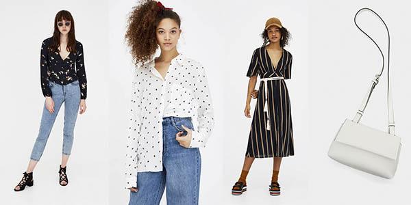 ropa colección primavera-verano para mujer rebajada en Pull & Bear
