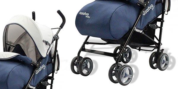 silla de paseo Asalvo Malta para niñ@s de hasta 3 años chollo