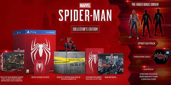 Spider-Man Edición Coleccionista PS4