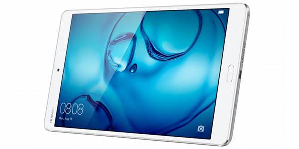 Huawei MediaPad M3 en color blanco