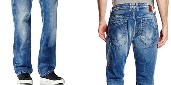 tejanos anchos para hombre Pepe Jeans Jeanius en oferta