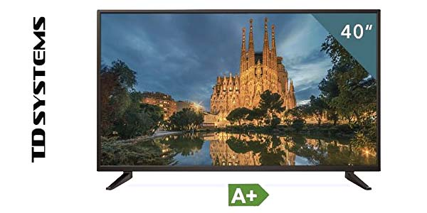 "TV TD Systems K40DLM7F de 40"" Reacondicionado certificado barato en Amazon"