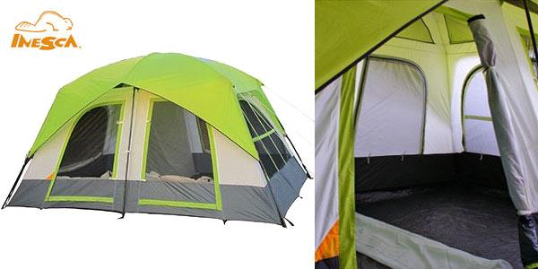 Tienda de campaña familiar Inesca Cabin 8 barata en eBay