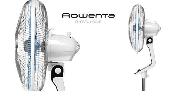 Ventilador de pie silencioso Rowenta Turbo Silence VU5640 en color blanco chollazo en Amazon