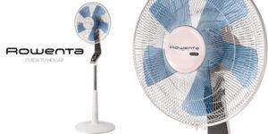 Ventilador de pie silencioso Rowenta Turbo Silence VU5640 en color blanco barato en Amazon