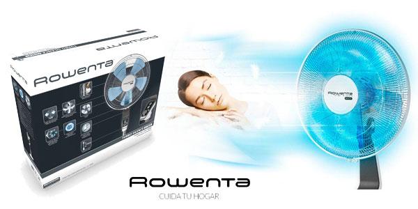 Ventilador de pie silencioso Rowenta Turbo Silence VU5640 en color blanco chollo en Amazon