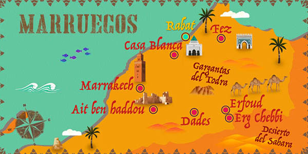 viaje a Marruecos con visitas incluidas chollo
