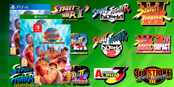 Videojuego Street Fighter 30th Anniversary Collection barato