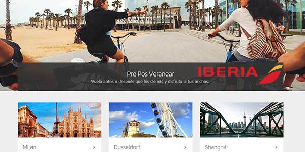 vuelos baratos en Iberia España Europa
