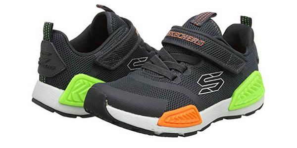 zapatillas con cierre de velcro para niños Skechers Kinectors chollo