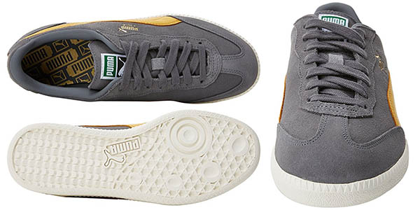 Puma Liga Suede en color gris